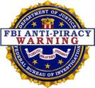 logo FBI anti pyracy warning hq